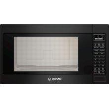 """500 Series, 2.1 Cu Ft Built-in Microwave plus 30"""" Trim Kit, Black"""