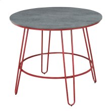 Emerald Home Langston Gathering Height Dining Table Barn Red D231-13