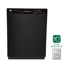 Semi-Integrated Dishwasher with Digital Status Display