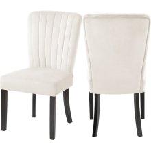 "Shelby Velvet Dining Chair - 20.5"" W x 23.5"" D x 39"" H"