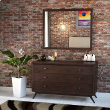 Tracy Dresser and Mirror in Cappuccino