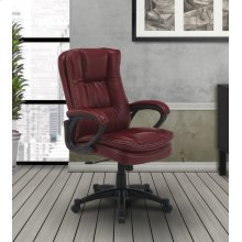 DC#204 Garnet Fabric Desk Chair