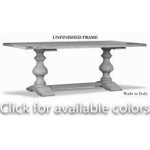Lionisio Trestle Table,Unfinished