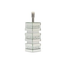 Montreal Silver Mirrored Lamp Base