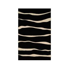 England Floor Coverings Cambridge 36198 2L Black 5' x 8' Rectangle 100206