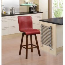 "29""h Barstool Red"