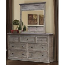 CF-3000 Bedroom  Dresser With Shutter Mirror