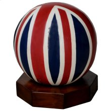Large Wooden Sphere