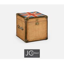 Union Jack Square Trunk