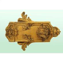 Rim Lock Louis XV Style