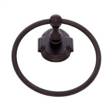 Oil Rubbed Bronze Chateau Towel Ring