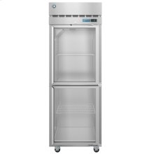 F1A-HG, Freezer, Single Section Upright, Stainless Door with Lock