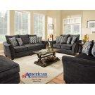 3850 - Athena Gray Sofa Product Image