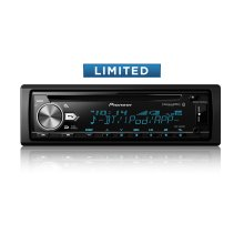 CD Receiver with Enhanced Audio Functions, Improved Pioneer ARC App Compatibility, MIXTRAX ® , Built-in Bluetooth ® , and SiriusXM-Ready