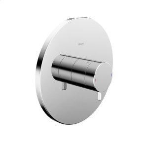 Lana pressure balance valve trim kit, without diverter, chrome Product Image