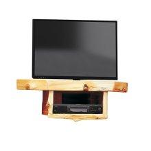 Corner TV Shelf - Natural Cedar
