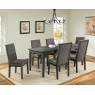 South Paw Dark Gray 7 Piece Dining Set Product Image