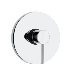 Luxe round pressure balance valve with lever handle. Product Image