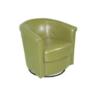 Marvel Swivel Chair Lime Green