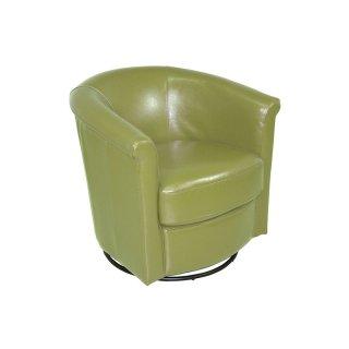 Marvel Swivel Chair Lime Green