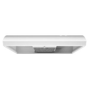 30-INCH NON-VENTED UNDERCABINET HOOD - White