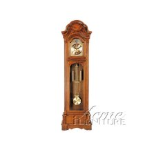 Light Oak Finish Grandfather Clock