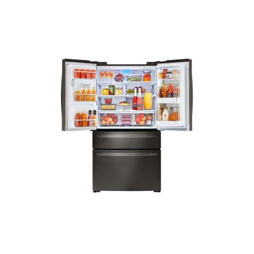 [CLEARANCE] 23 cu. ft. Smart wi-fi Enabled InstaView Door-in-Door® Counter-Depth Refrigerator. Clearance stock is sold on a first-come, first-served basis. Please call (717)299-5641 for product condition and availability.