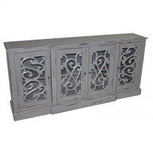 Carved 4-Door Buffet