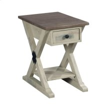 TRESTLE CHAIRSIDE TABLE