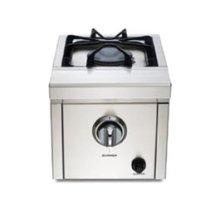Pro Series single side burner w/ 15,000 BTUs - NG