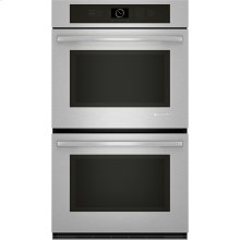 "Double Wall Oven with MultiMode® Convection, 30"", Euro-Style Stainless Handle"