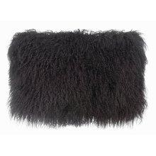 Tibetan Sheep Dark Grey Long Pillow