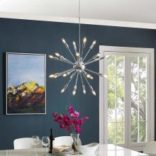 Gamut Metal Chandelier