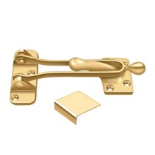 "5"" Door Guard - PVD Polished Brass"