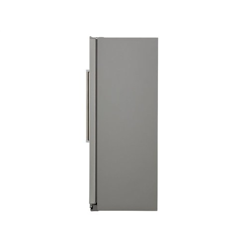 22.6 cu ft. Counter-Depth Side-by-Side Refrigerator with Exterior Ice and Water and PrintShield finish - Stainless Steel with PrintShield™ Finish