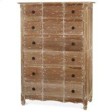 Provence 6 Drawer Tallboy