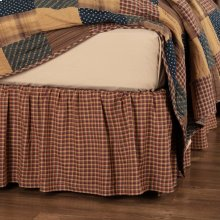 Patriotic Patch King Bed Skirt 78x80x16
