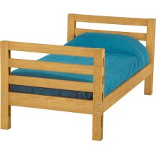 Twin lower bed