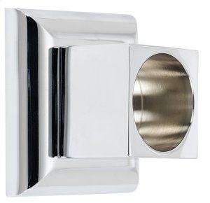 Manhattan Shower Rod Brackets A7446 - Unlacquered Brass Product Image