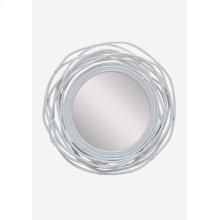 Dorset Mirror - White (35x3x35)