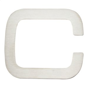 Paragon Letter C - Stainless Steel Product Image