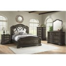 1049 Avignon King Bed with Dresser and Mirror Product Image