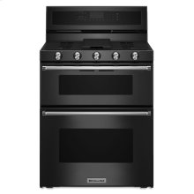 30-Inch 5 Burner Gas Double Oven Convection Range - Black **NEW IN BOX**