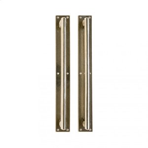 """Metro Pull/Pull Set- 2 1/4"""" x 17"""" Silicon Bronze Brushed Product Image"""