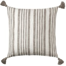 Flagstone Pillow, PEWTER, 22X22