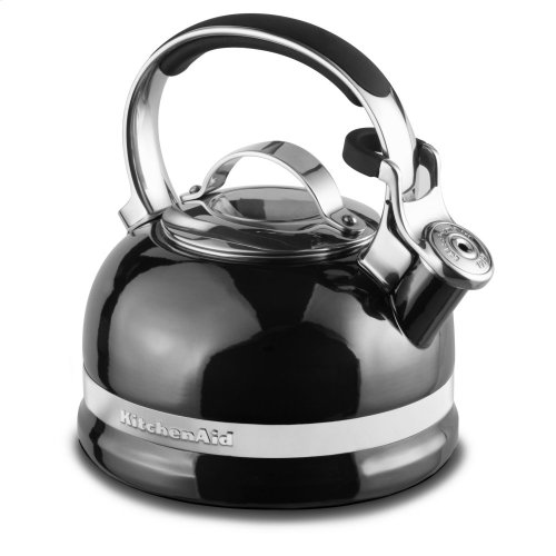 1.9 L Kettle with Full Stainless Steel Handle and Trim Band - Pearl Metallic