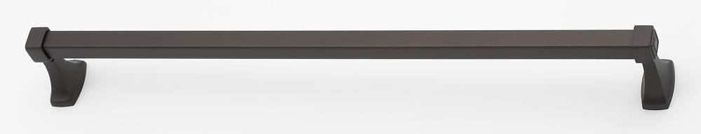 Cube Towel Bar A6520-24 - Unlacquered Brass