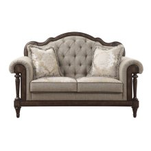 Love Seat with 2 pillows