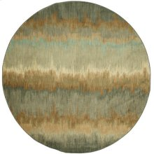 Cashel Abyss Blue Round 8ft X 8ft