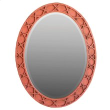 Daupine oval mirror